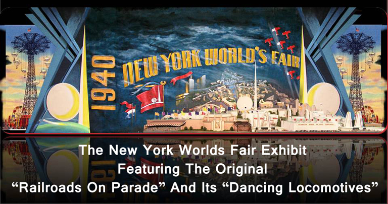 NEW YORKS WORLD FAIR_RAILROADS ON PARADE_MODEL TRAINS