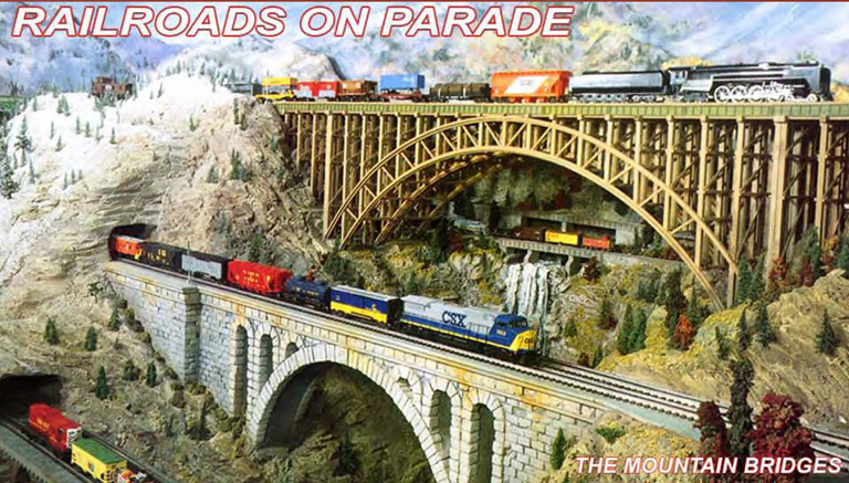 RAILROADS ON PARADE_MODEL TRAINS